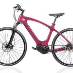 електрически дървен велосипед